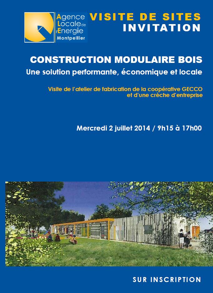 Visite de construction modulaire bois : une solution économique, performante et locale