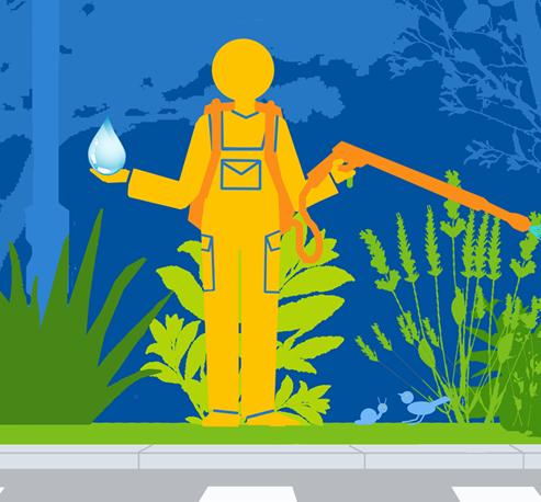 Espaces verts : économies d'eau et zéro phyto