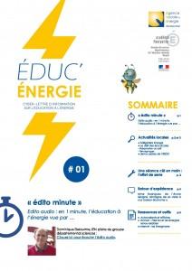 Éduc'Énergie 1 – Juin 2014