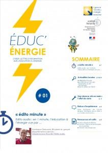 Lettre educ energie n 1 juin 2014 v2