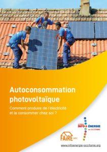 Couverture guide autoconsommation photovoltaïque