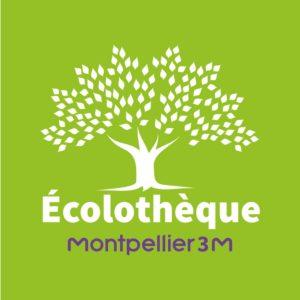 Logo écolothèque Montpellier