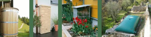 Différentes manières de récupérer l'eau de pluie