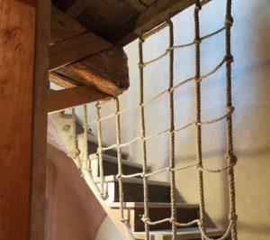 Escalier corde rénovation montpellier visite de site ALE