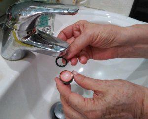 Changement de mousseur dans une copropriété test