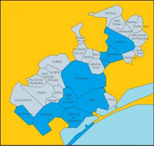 Communes participantes 2016-2017