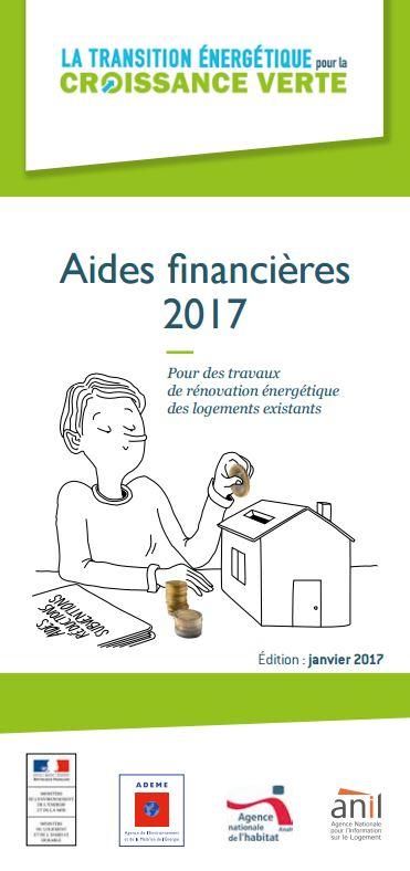 Aides financières 2017 - ADEME