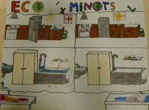 Dessin les Cigales concours illustration éco'minots