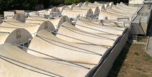 Biofiltration de l'eau station maera