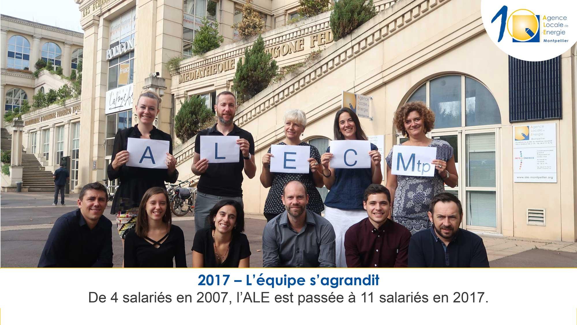 ALEC 2017 l'équipe s'agrandit