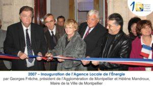 2007 inauguration de l'Agence Locale de l'energie