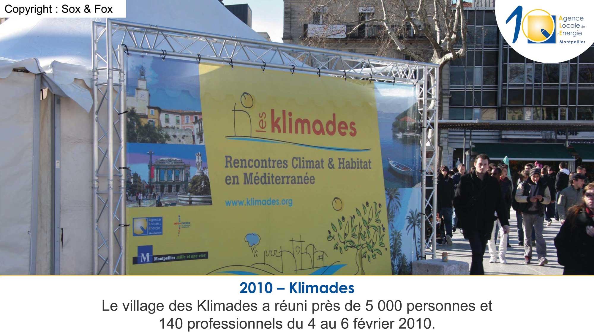 2010 les Klimades