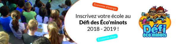 Recrutement éco'minots 2018-2019