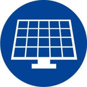 Logo photovoltaïque