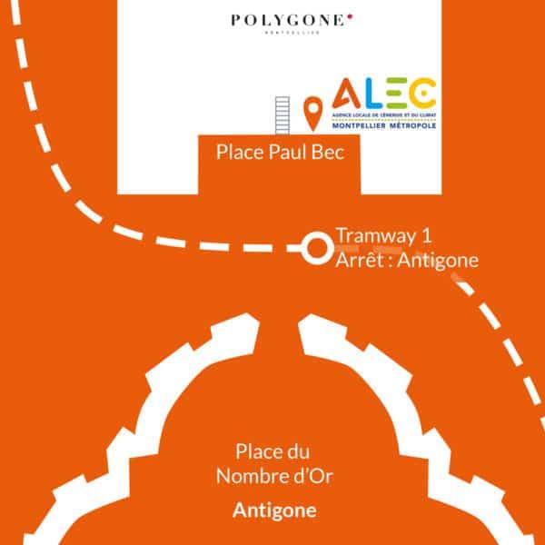 Plan acces ALEC Montpellier Métropole