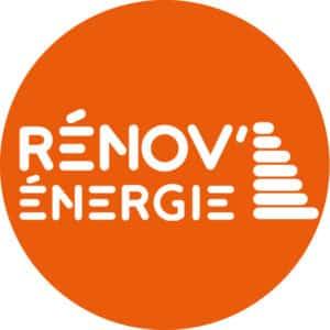 Logo Rénov'énergie blanc