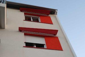 Fenêtre résidence rénovée BBC