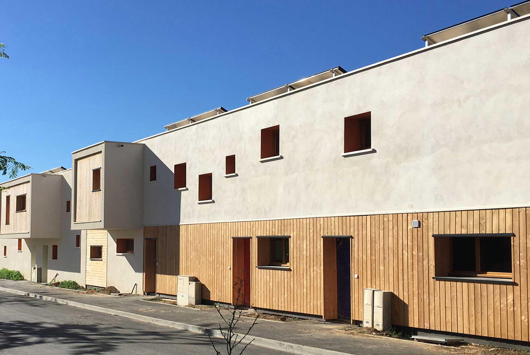 Habitation bioclimatique Fabr