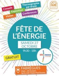 Visuel Fête de l'énergie 2018 - Fabrègues