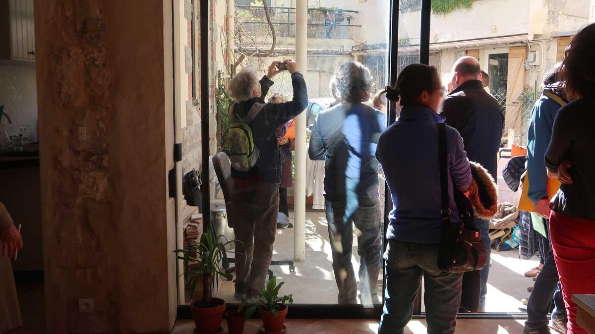 Visite de site appartement Montpellier changement ouverture