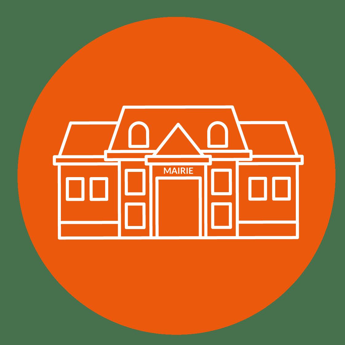 Icône collectivités - bâtiments publics