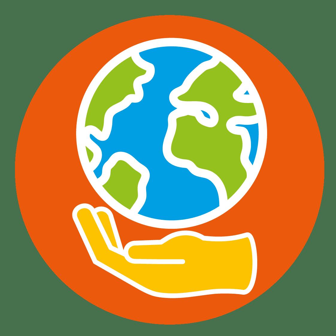 Icône association pour la planète