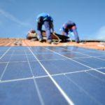 Pose panneaux photovoltaïques