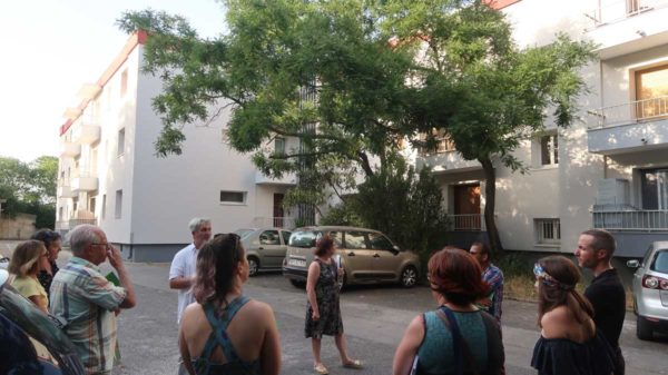 Visite d'une copro rénovée à Montpellier