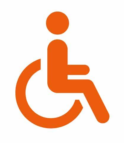 Handicapé icône