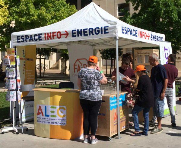 Stand ALEC Espace Info-Énergie
