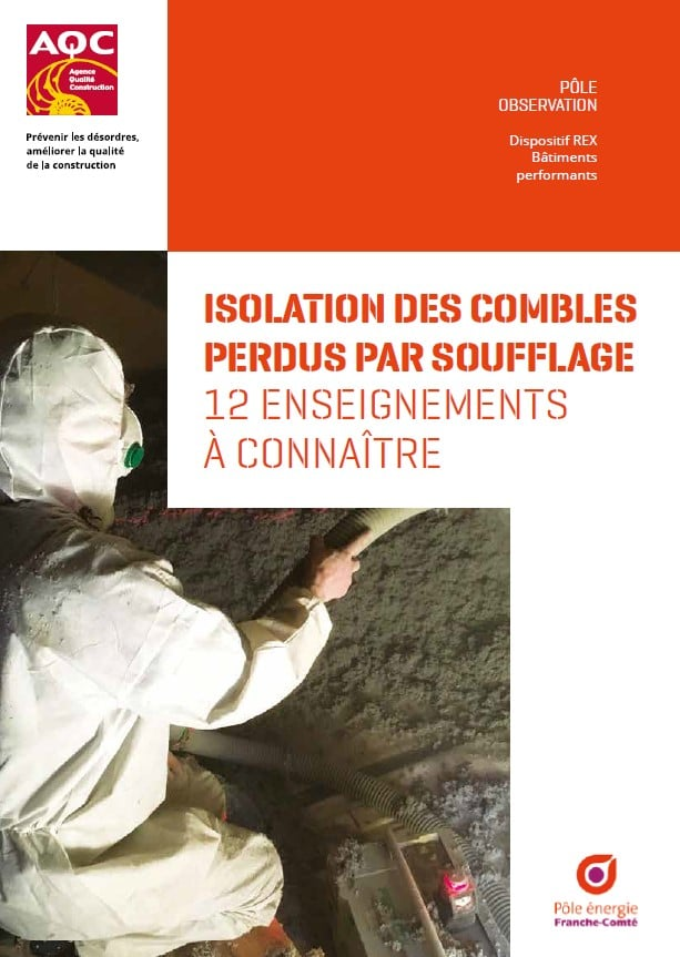 Guide isolation combles perdus