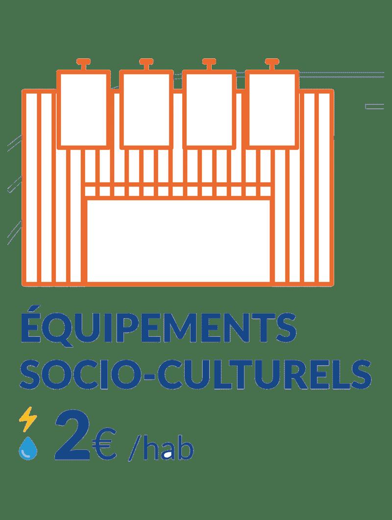 2€ équipements socio culturels