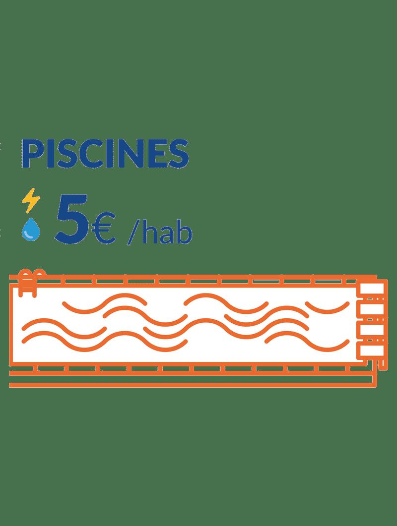 5€ consos piscines