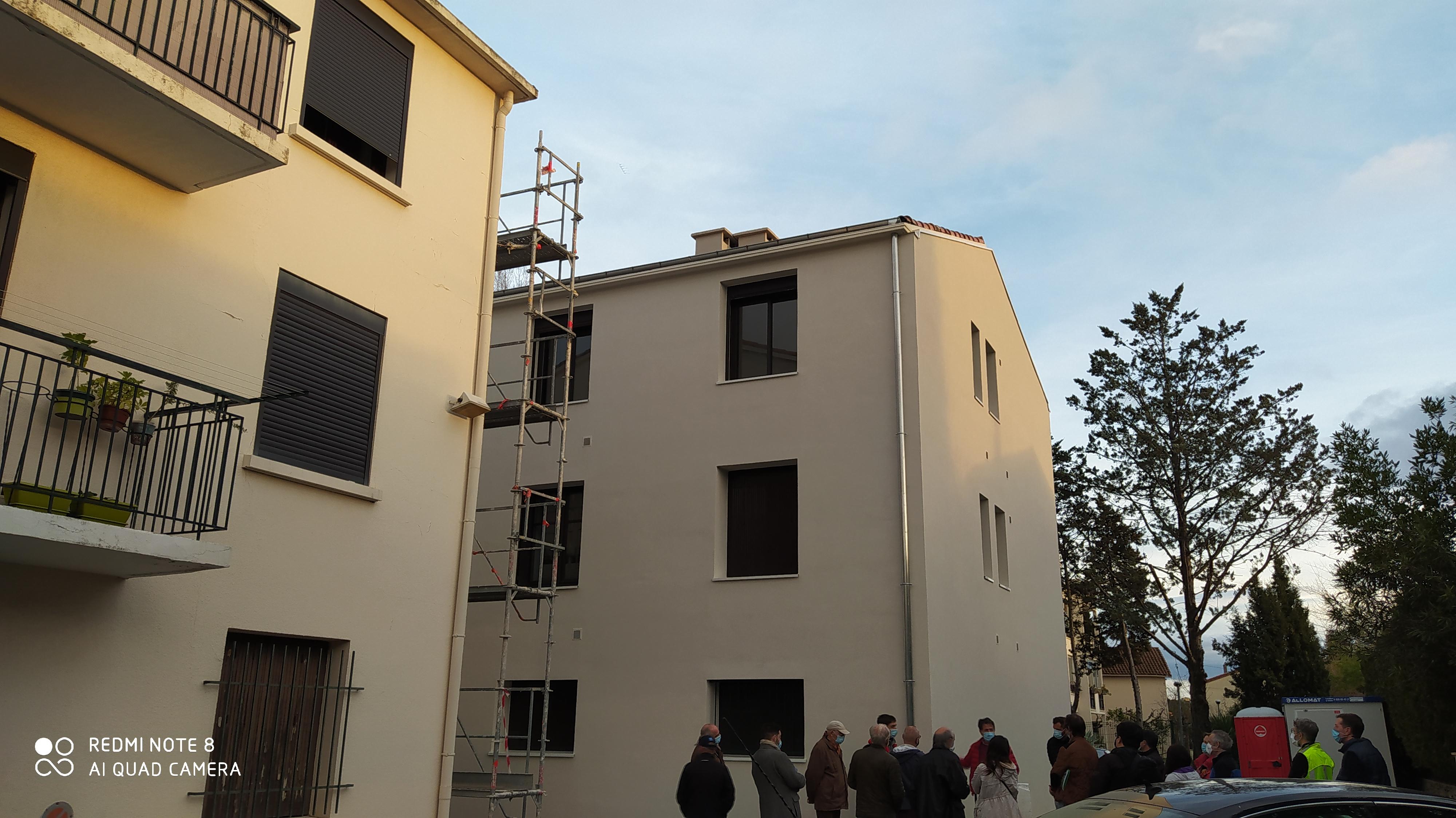 Visite de site : isoler les murs par l'extérieur en copropriété 28 janvier à 17h