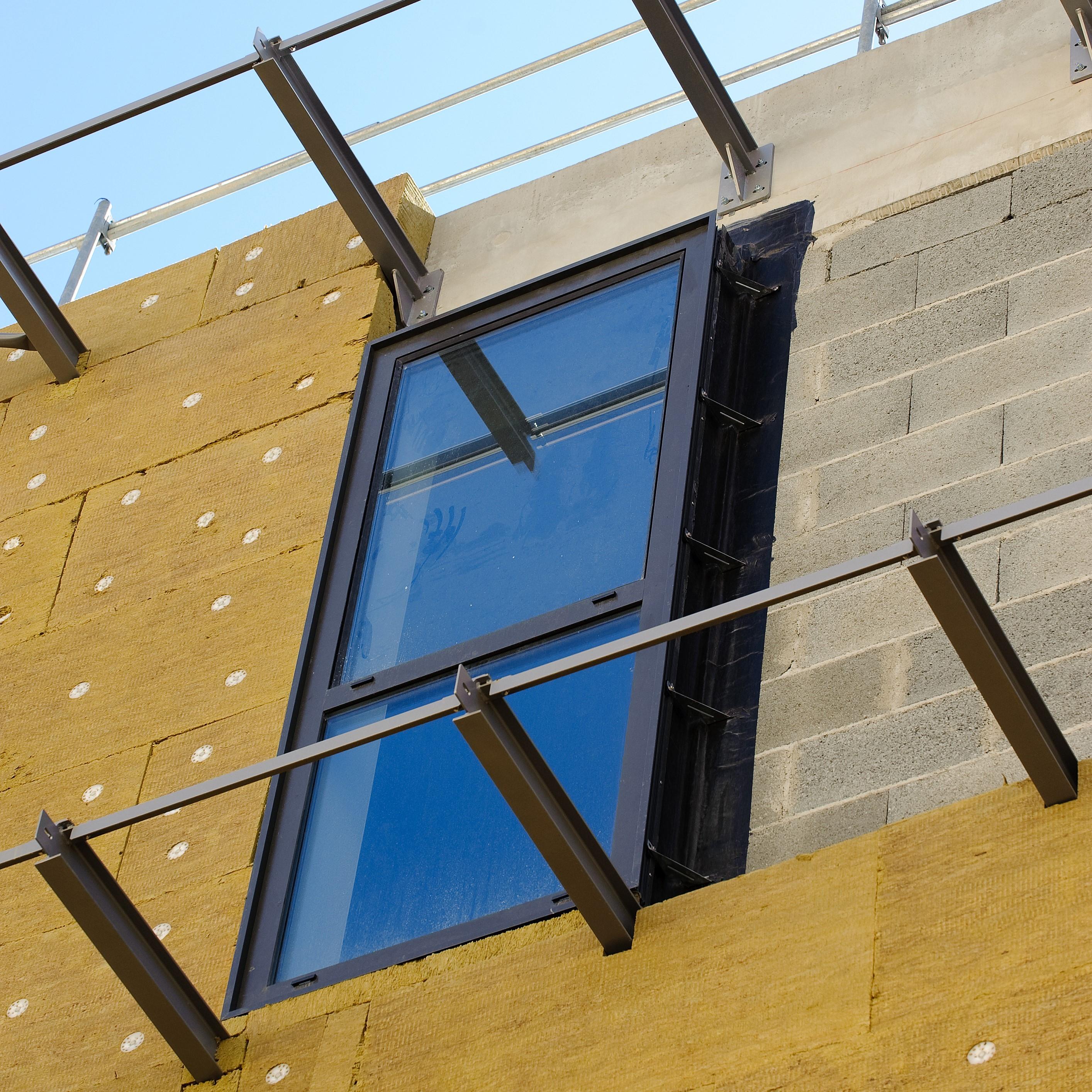 Construction de l'espace commercial (promoteur: Apsys - architecte: Groupe 6)