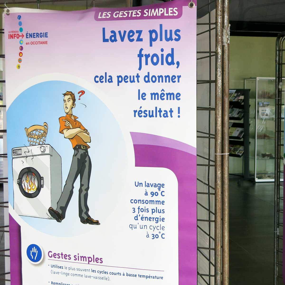 """Exposition """"les éco-gestes simples"""" à Prades-Le-Lez Du 1 au 26 mars"""