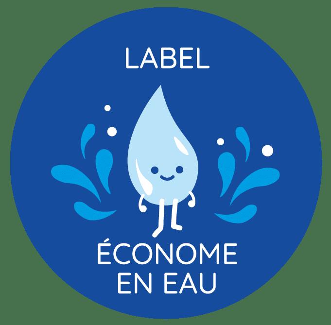 Logo label eau