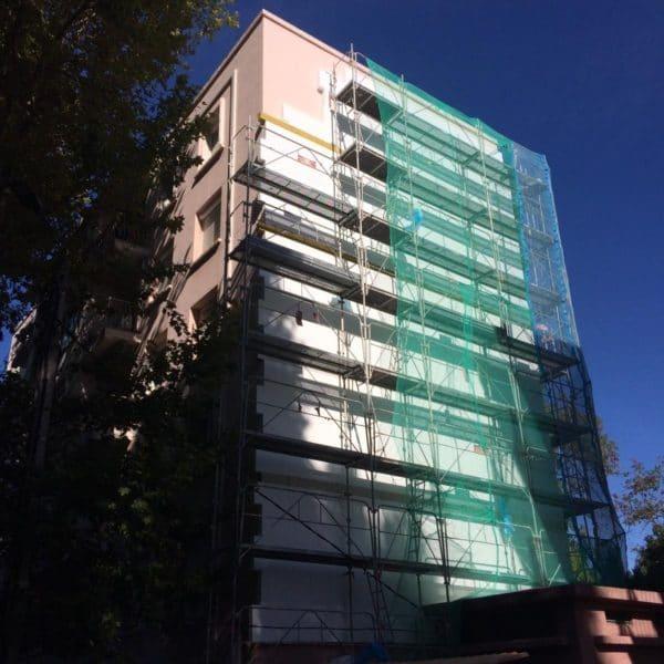 Copro en cours de rénovation