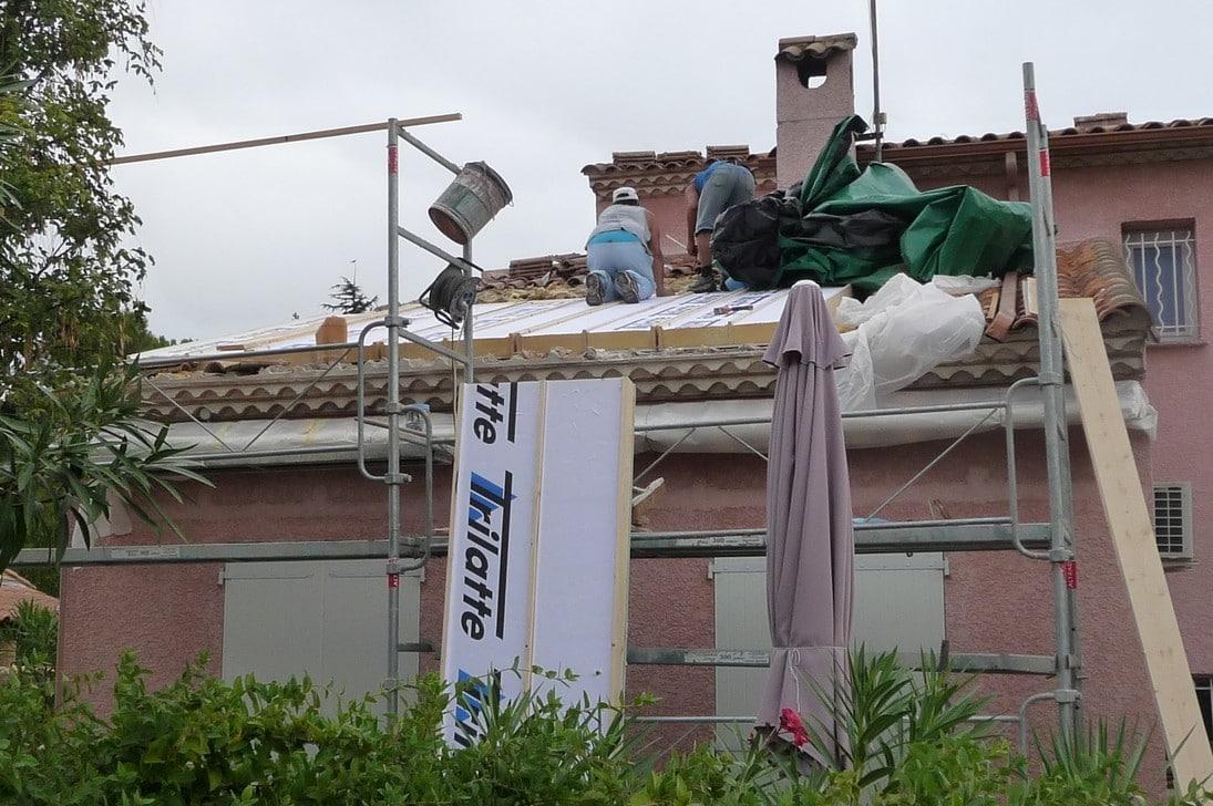 Retour d'expérience : Réfection et isolation de toiture par l'extérieur