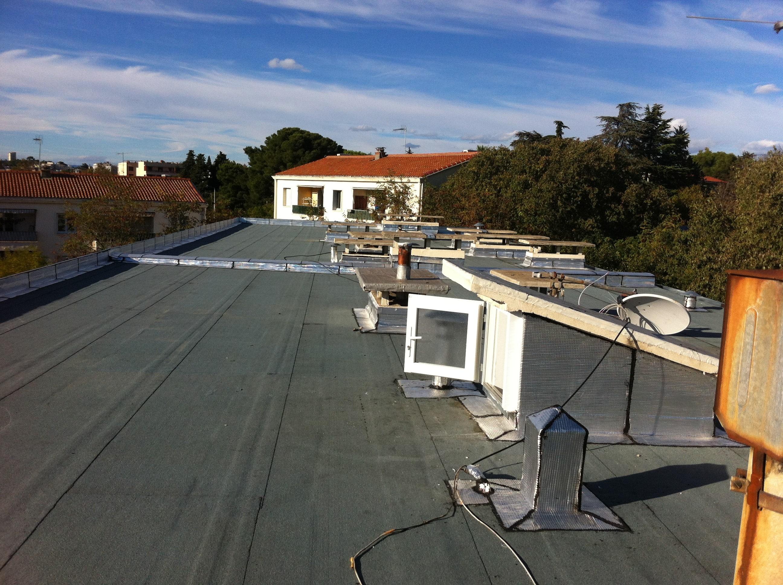 Retour d'expérience : Isolation de toiture-terrasse